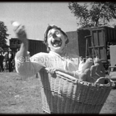 Clown with Basket
