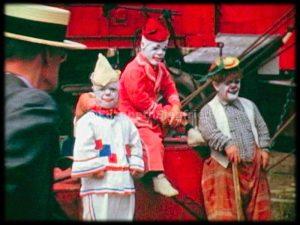 Clowns Waiting