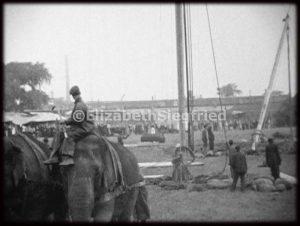 Raising the Tent Poles